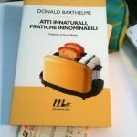 Atti innaturali, pratiche innominabili (Donald Barthelme)