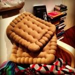 Biscotti sul divano