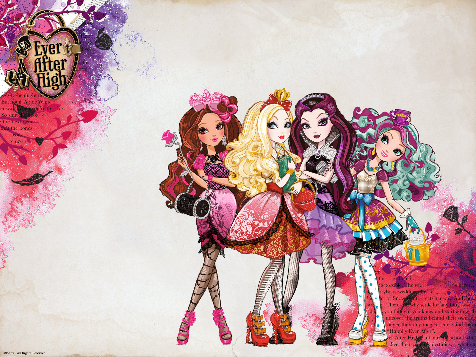 Ever After High Wallpaper