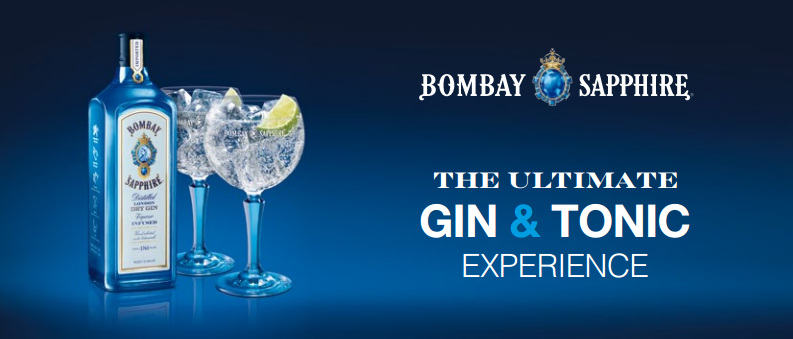bombay sapphire ultimate gin e tonic experience
