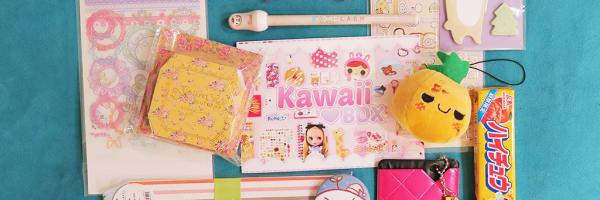 kawaii box tegamini aprile 2015