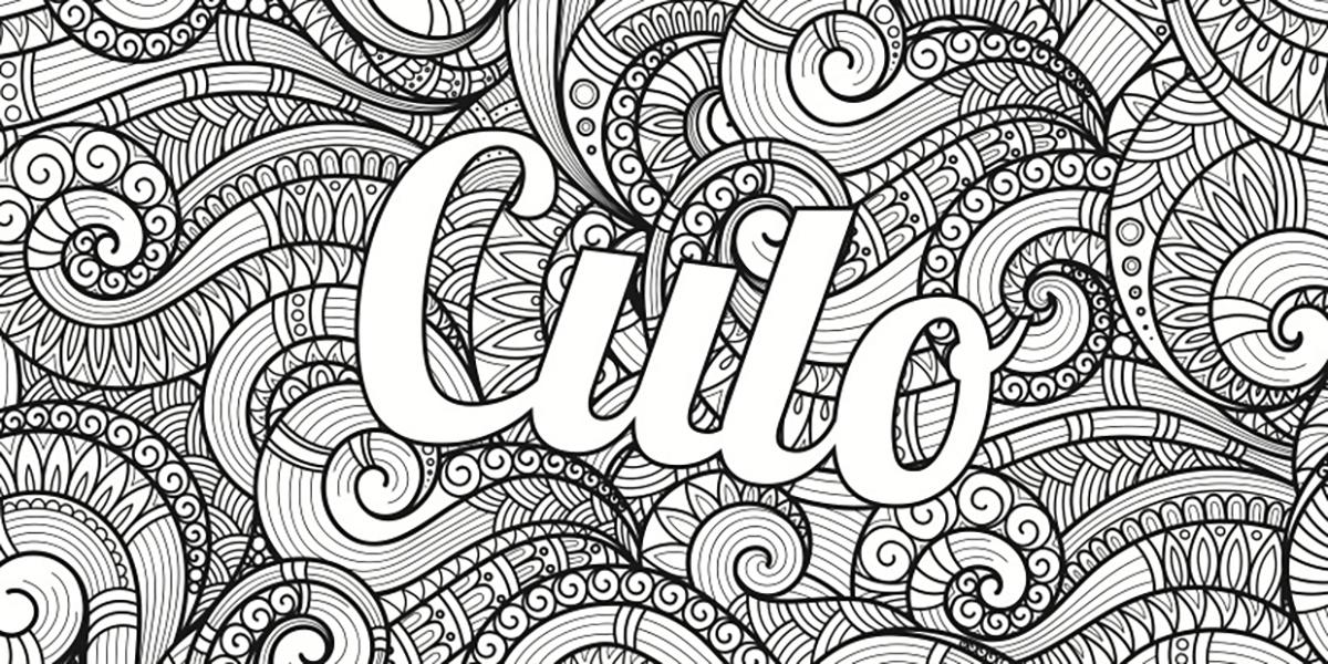 Libri da colorare per gente incazzata tegamini for Disegni da colorare tumblr
