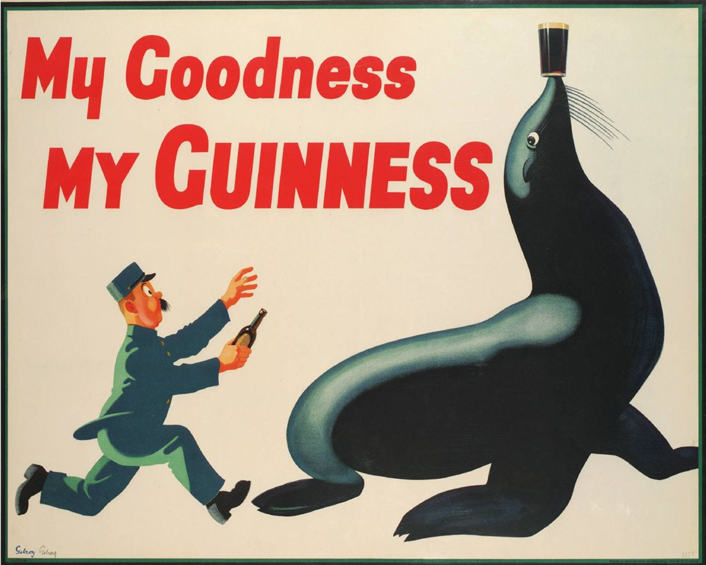 my-goodness-my-guinness-seal-sea-lion-metal-advertising-wall-sign-retro-art-733-p