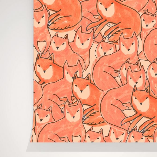 fox-croud-wallpaper