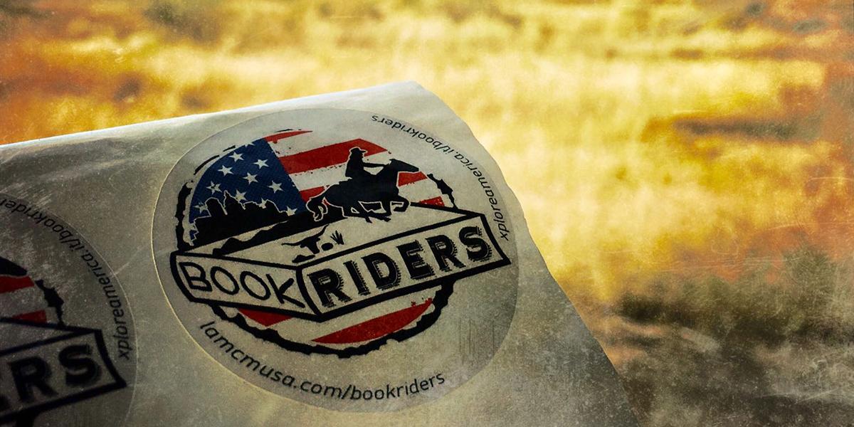 bookriders header tegamini
