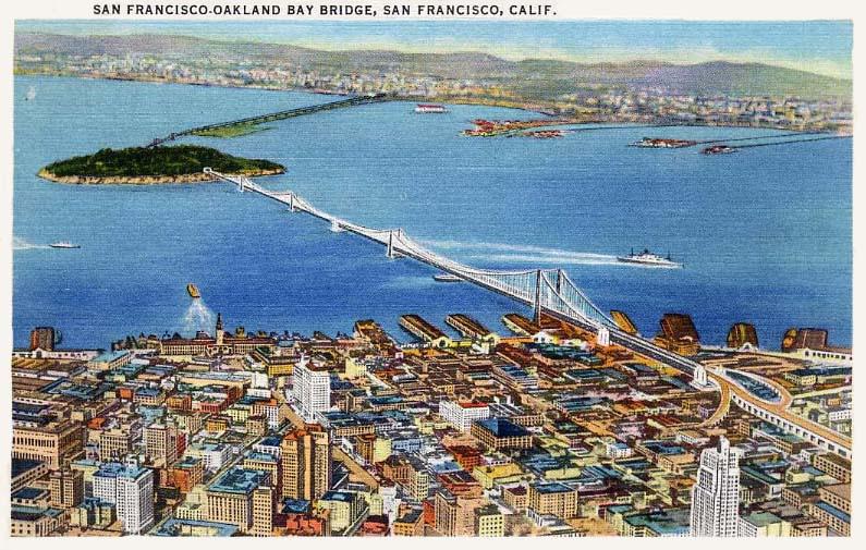 postcard-san francisco
